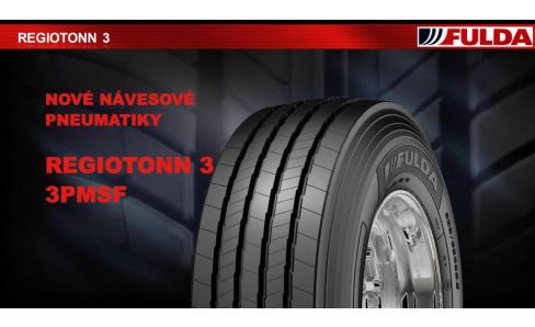 Nová navesová pneu FULDA REGIOTONN 3