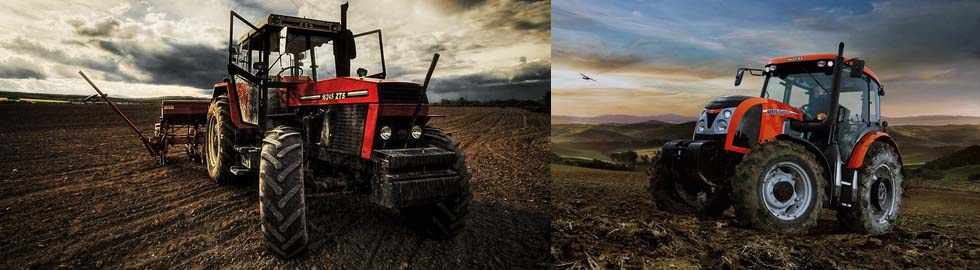 Pnuematiky na traktor Zetor